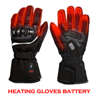 Новый Лыжный спорт перчатки с подогревом двигателя для верховой езды отопление перчатки анти капля овчины Давление ветрозащитный Водонепр