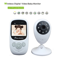 BabyKam Wireless Digital Video Baby Monitor 2.4inch Security Camera Baby Intercom Radios Night Vision LED Temperature Monitor