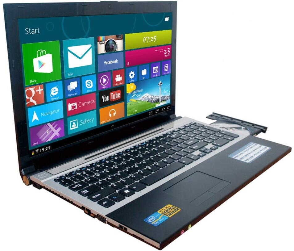 8G RAM+30G SSD and 1000GB HDD 15.6inch 1920*1080P FHD Intel Core i7 Laptop Windows 10 Notebook pc with DVD-RW For Office Home пэвм personal 0557901 i7 4790 4gb 1000gb svga dvd±rw 400w