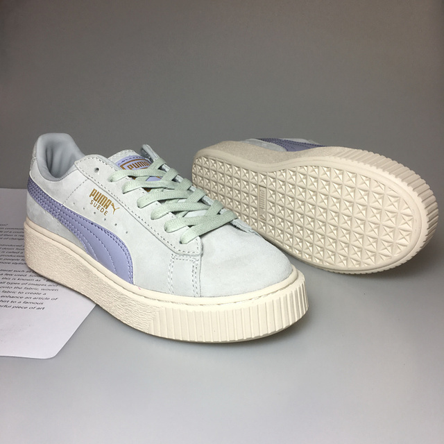 5c5d96c5a0fe 2018 New arrive Puma by Rihanna Suede Creepers women s and men shoes  Breathable Badminton Shoes Sneakers size 36-39