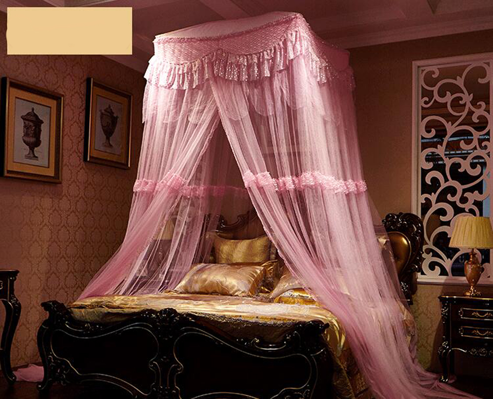 popular pink bed canopy-buy cheap pink bed canopy lots from china