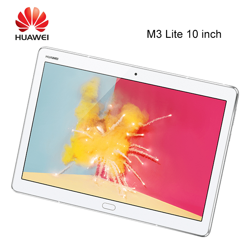 Huawei MediaPad M3 Lite 10 MSM8940 Octa Core 3G/4G Ram 32G/64G Rom 8.0 Inch Wifi/LTE IPS Android 7 1200x1920 Fingerprint 10 Inch