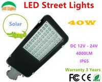 Wholesale Solar Compatible 40W LED Street Lights Apply Road Street Park Plaza Garden Community Outdoor IP65