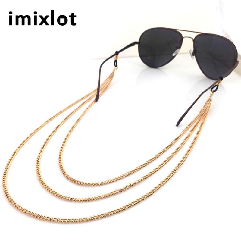 IMIXLOT Novo Prihod Rose zlata bakrena Očala Očala Očala za branje Očala Očala Holder Cord Head Chain