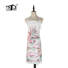 Free Shipping KEFEI Custom Merry Christmas Apron Beauty Restaurant Aprons Chef Works Apron Adjustable Kitchen Apron my apron