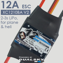 DualSky Xcontroller BA brushless & sensorless ESC V2 60A 40A 30A 25A 18A 12A with UBEC for RC Car Model