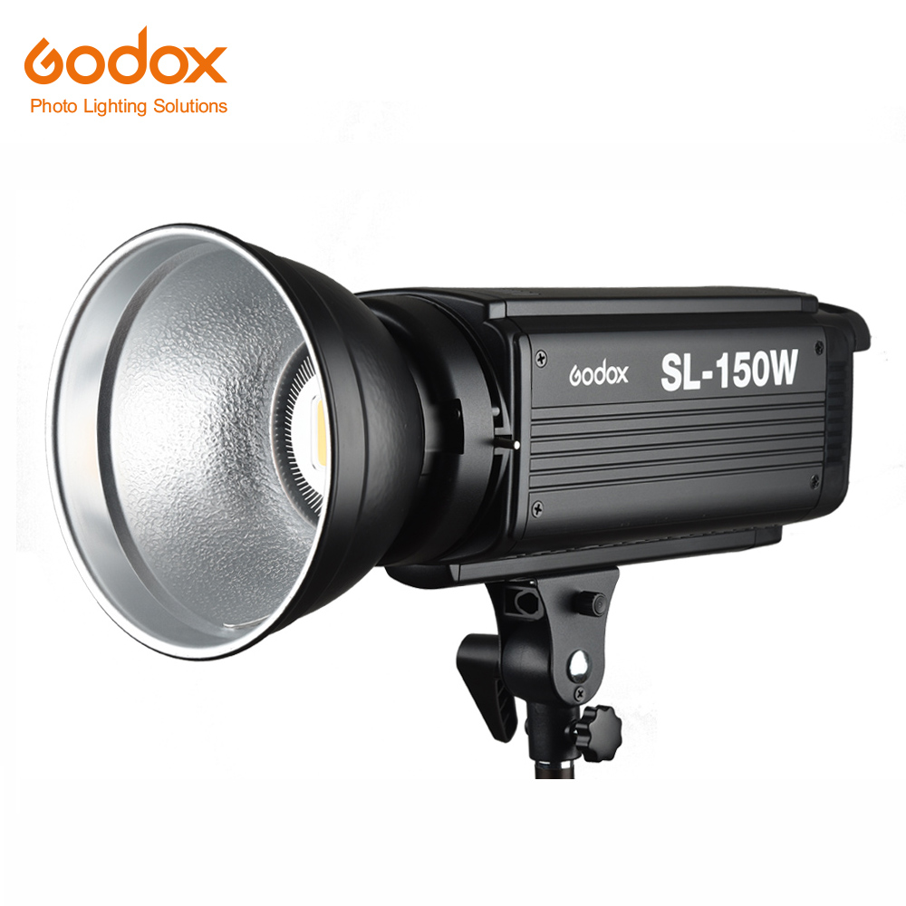Free DHL Godox SL 150W 150WS 5600K White Version LCD Panel LED Video Light Continuous Output
