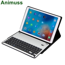 Animuss Built In Wireless Bluetooth Keyboard Stand Shell For Apple iPad Pro 10.5 Inch