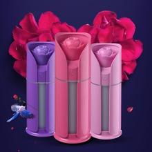 MEXI Portable 3W 130ML Car Rose Flower Air Humidifier Oil Diffuser Mini USB Aroma Mist Makers Purifier