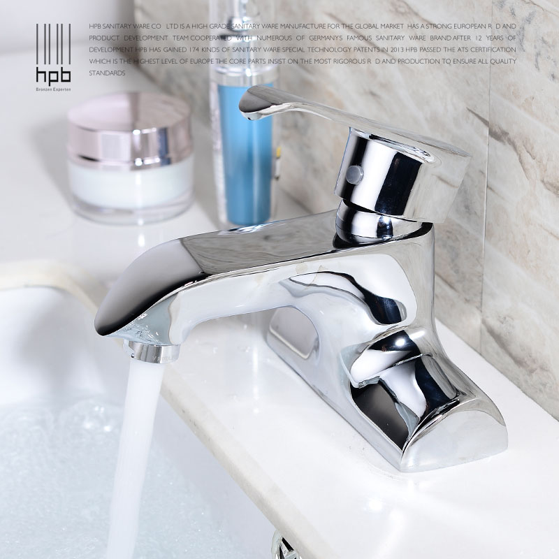 HBP Free Shipping Chrome Brass Centerset Bathroom Faucet Cold Hot Water Tap Lavatory Vessel Sink Basin Faucets Mixer Taps HP3402 евросвет бра 5122 2 хром