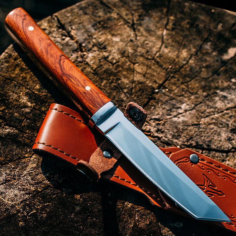 Top Quality Army Tactical Knife Wood Handle for Outdoor Hunting Rescue KNIFES 60HRC Fixed Blade Camping Knives Collection GiftsTop Quality Army Tactical Knife Wood Handle for Outdoor Hunting Rescue KNIFES 60HRC Fixed Blade Camping Knives Collection Gifts