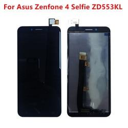 Para Asus Zenfone 4 Selfie ZD553KL LCD, Painel da Tela de Toque Digitador Assembléia Peças de Reposição de Telefone Para ASUS ZD553kL LCD exibição