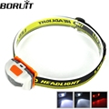 Mini Head Lamp 4 Mode Waterproof 600Lm R3 2 LED Flashlight Super Bright Headlight Headlamp Torch Lanterna with Headband