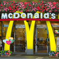 8x8FT Street Mcdonald Store Shop Flowers Basket Balloons Wedding Custom Photography Studio Background Backdrop Vinyl 10x10 8x10