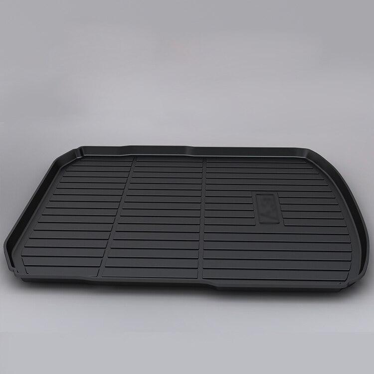 Tronc tapis spécial pad de caisse de queue TPO synthétique caoutchouc tapis de coffre stéréo haute Anti Slip pour Audi A3 - 2