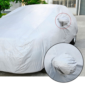 Image 4 - רכב מכסה אוניברסלי מלא רכב גוף כיסוי עמיד למים מכסה אוטומטי עבור סדאן SUV שמש הוכחת מגן מכוניות כיסוי אבזרים