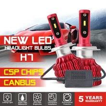 2 шт. X9 автомобильная лампа для фар H1 H4 H7 H11 9005 9006 100 лм 6500 Вт светодиодный комплект для автомобильных фар турбинная лампа CANBUS K автомобильные аксессуары