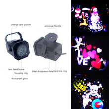Lawn Light LED Indoor/outdoor Stage Christmas Highlight Film Projection Lamp Snowflake Waterproof Snowman Ghost Pattern Light merry christmas snowman pattern indoor outdoor area rug