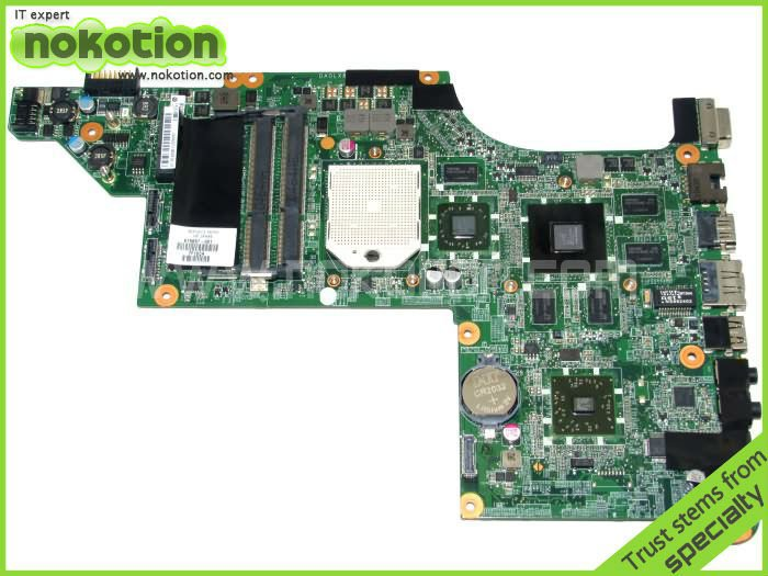 NOKOTION original FOR HP DV7-4000 SERIES LAPTOP MOTHERBOARD 615687-001 DDR3 MAIN BOARD Full test original 615842 001 motherboard fit for hp cq32 g32 series notebook pc main board 100% working