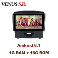 VenusSR Android 8.1 2.5D car dvd for Chevrolet S10 TRAILBLAZER ISUZU D MAX multimedia headunit GPS Radio stereo gps navigation
