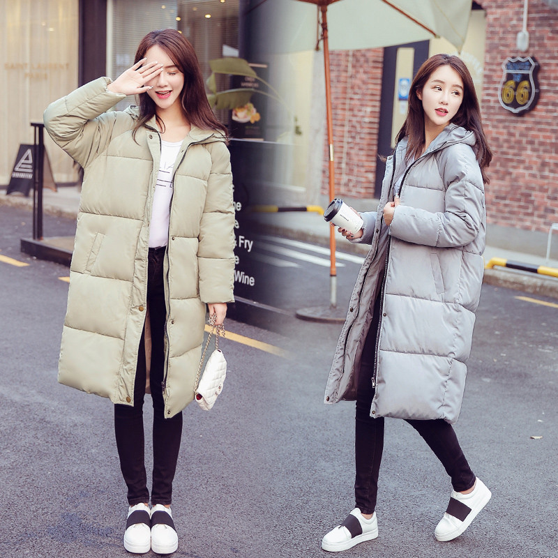 Cotton Coat Women New Winter Korean Students Plus Size Thick Down Parkas Jacket Warm Outwear Female