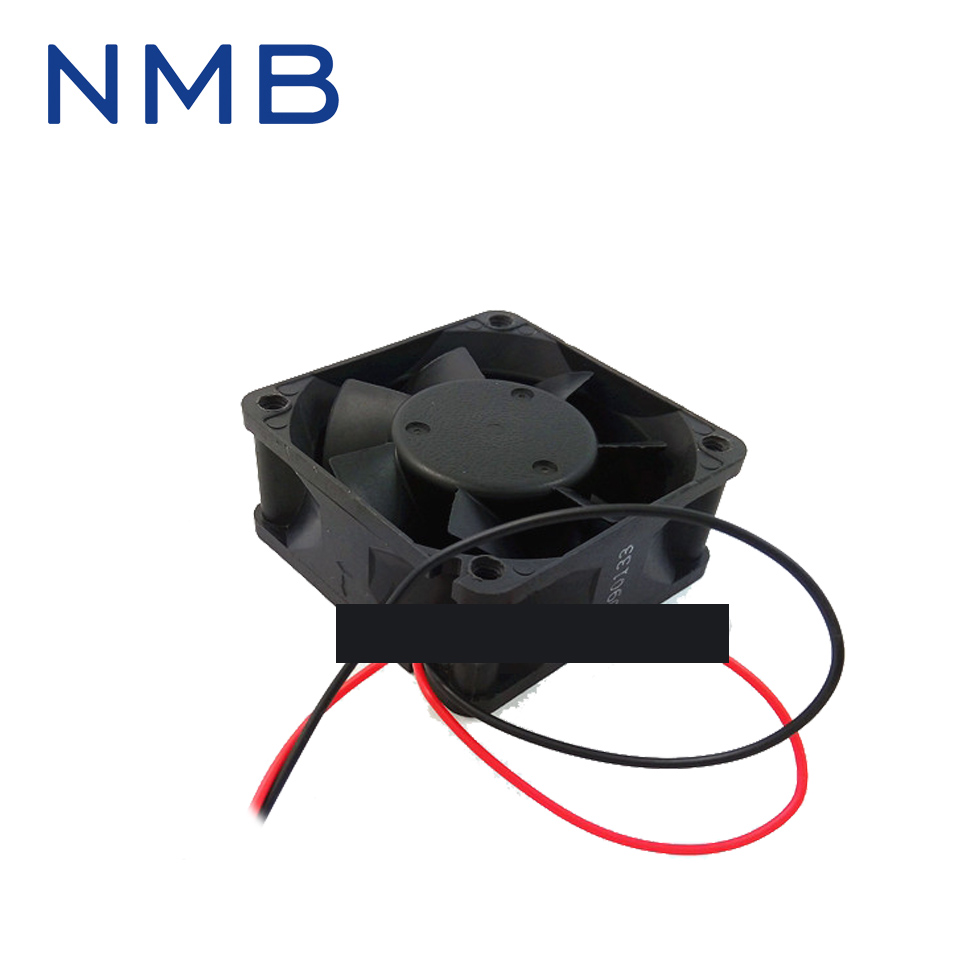 original NMB 2410ML-05W-B60 DC24V 60*60*25 bearing cooling fan radiator
