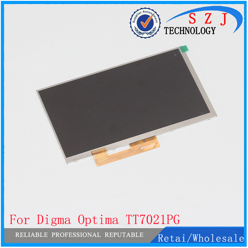 New 7'' Inch 30pin LCD Display Screen For Digma Optima 7.21 3G TT7021PG tablet pc Replacement Free Shipping digma optima 7010d 3g