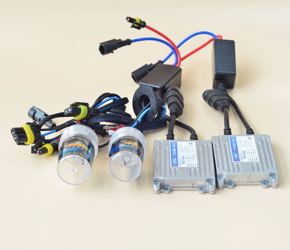GZTOPHID OEM Car Light Source Retrofit Kit including 12V 35W H1 H3 H7 H11 880 881 9005 9006 HID Headlight Lamp Bulb and Ballast gztophid 3 bifocal q5 projector lens 35w hid bulb shroud and high low beam control wire for h1 h4 h7 h11 9005 9006