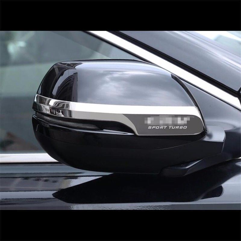 Chromium Styling  2pc SL Chrome Steel Rearview Side Mirror Cover Trim Fit For 2017-2018 Honda CRV CR-V Accessories  Car Styling