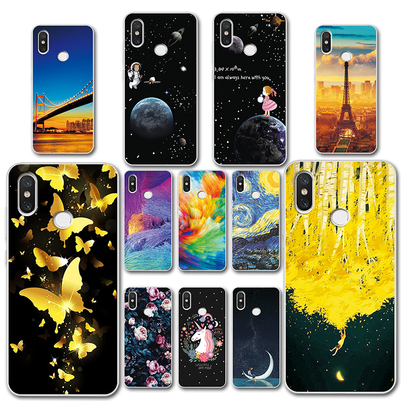 Fitted Cases Cellphones & Telecommunications Soft Tpu Phone Case For Redmi Note 5 Global Cover Colorful Painted Novelty Bags Para For Redmi 5 Capa Fundas For Redmi Note5 Pro