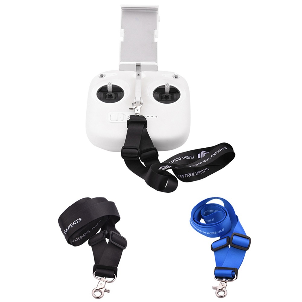 Adjustable Lanyard For DJI Phantom 3 4 Inspire Drone Neck Strap Sling For Remote Controller Transmitter Spare Parts Hook Mount