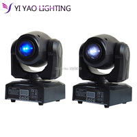 2pcs/lot Super Beam 30W Mini DMX Spot Light DJ Stage Lighting Moving heads Light