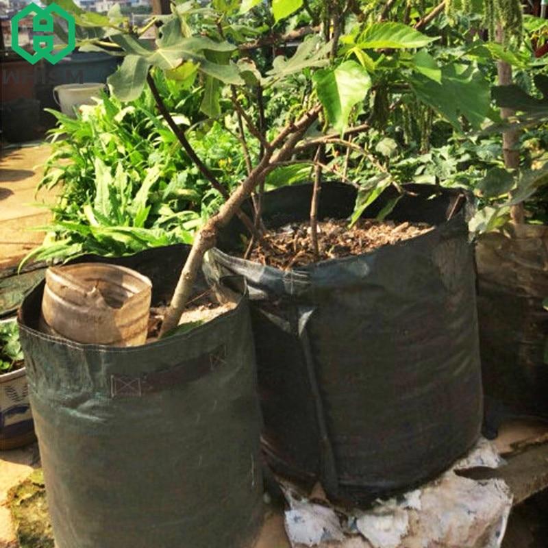 WHISM картофеля сумки открытый выращивание контейнер вертикальный сад горшок Овощной сеялки PE Расти Мешок дома и сада