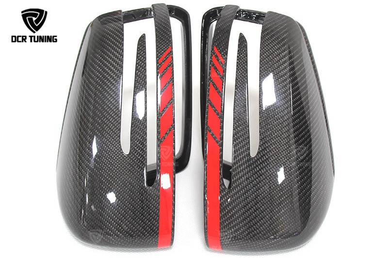 Mercedes Carbon Mirror W204 W207 W212 W176 W218 W221 Mercedes A C CLS E CLA Class Carbon Mirror Cover 1  1 Replacement (1)