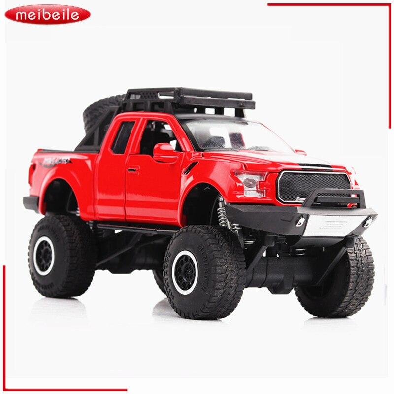 1:32 Raptor F150 Pickup Truck Alloy Model Toy Cars Model For Baby Car Best gifts for Children