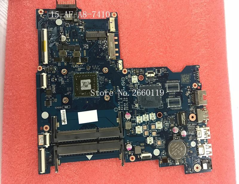 все цены на Laptop motherboard for 15-AF A8-7410 2.2GHz CPU 813970-601 813970-501 001,Fully tested
