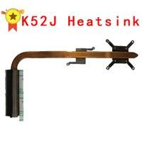 Original For Asus Laptop Heatsink Cooling Fan Cpu Cooler K52 K52J A52J A52J X52J CPU Heatsink