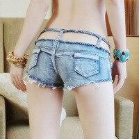 2017 Women Sexy Jeans Denim Shorts Summer Fashion Hollow Out Pocket Super Hole Button Hot Pants