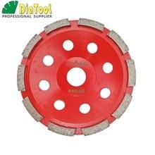 цена на 5 inch (125mm) Single Row Cup Wheel for concrete, grinding disc, grinding wheel, bore 22.23mm