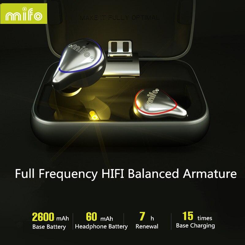 Nouveau Mifo O5 Bluetooth 5.0 véritable casque sans fil Bluetooth Binaural Mini écouteurs intra-auriculaires HIFI étanche écouteurs livraison gratuite - 6