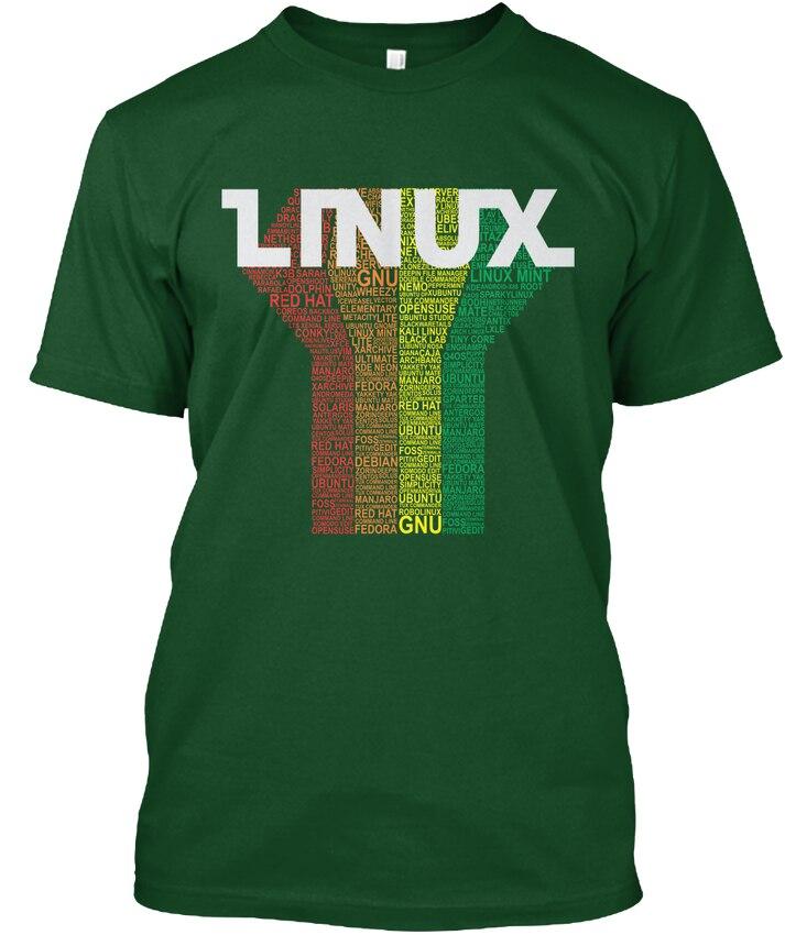- Linux Gnu Popular Tagless Tee T-Shirt