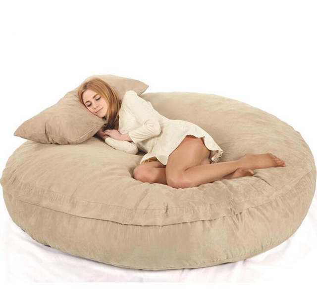 Xxl Bean Bag Chair For Adult Bean Bags Lazy Bag Cover Not Included