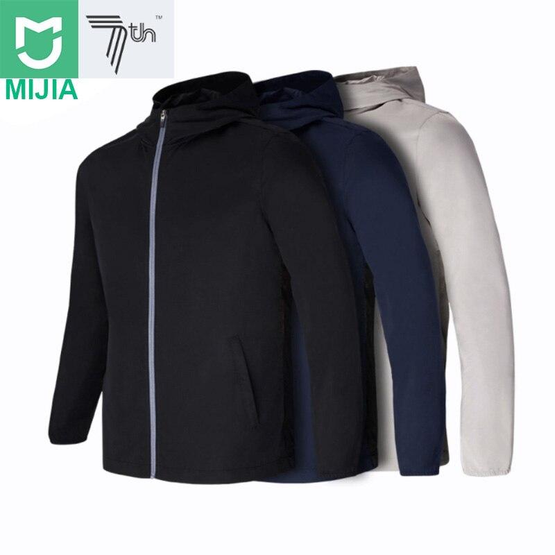 Xiaomi Youpin 7th sac de transport résistant coupe vent sac à dos étanche extérieur veste hommes vêtements Sport porter sac à dos-in Sacs from Electronique    1