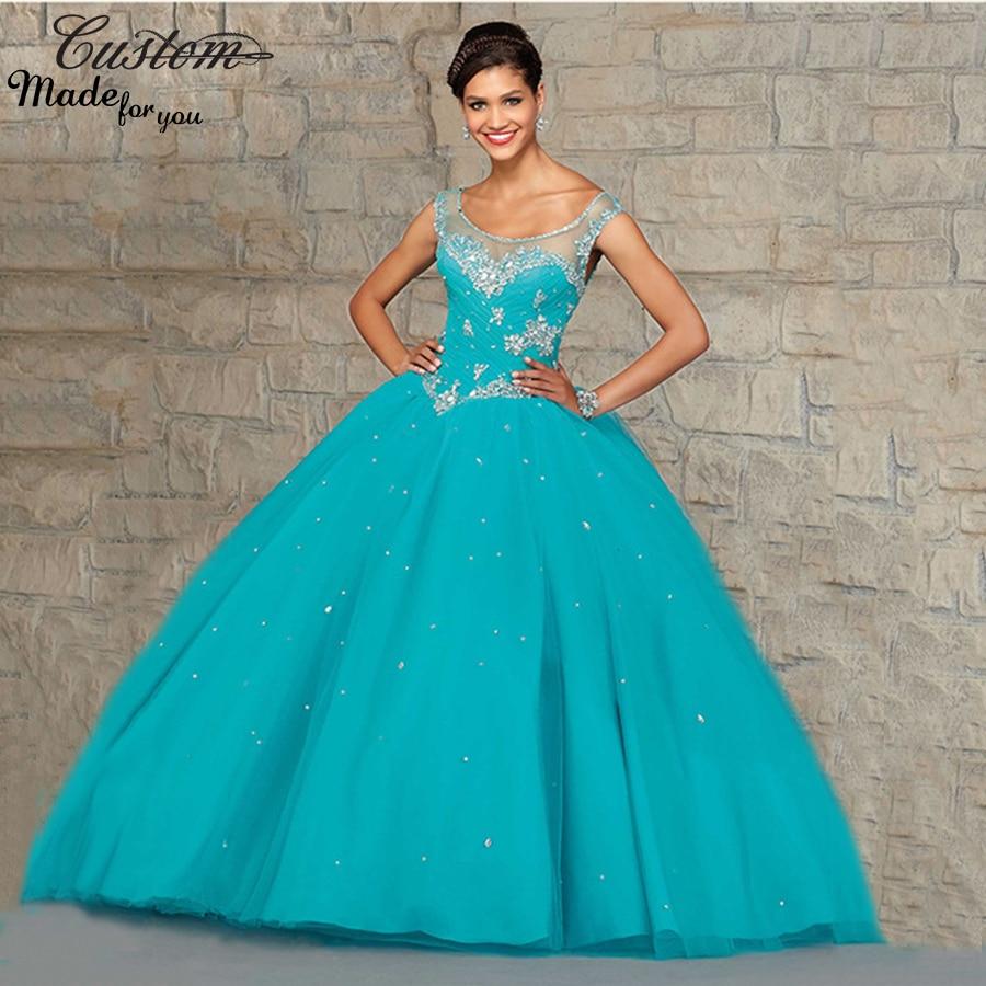 Aliexpress.com : Buy Sweet 16 Dresses 2016 Cheap Quinceanera Dresses ...