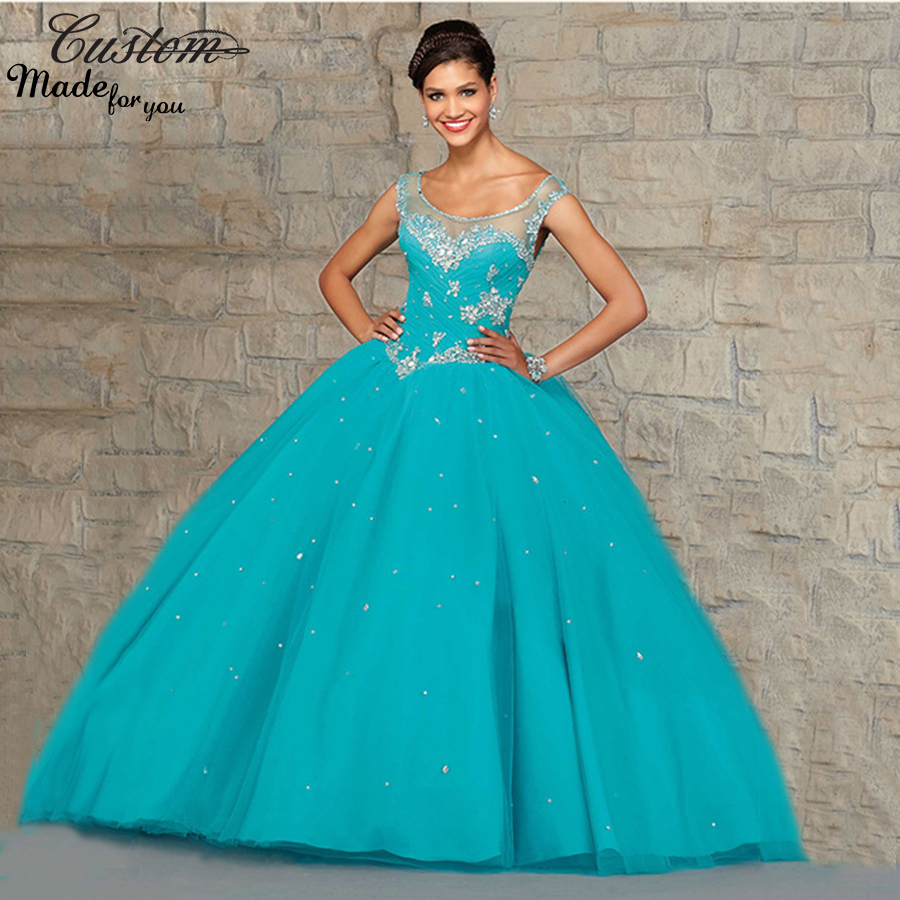 Online Get Cheap Teal Quinceanera Dresses -Aliexpress.com ...
