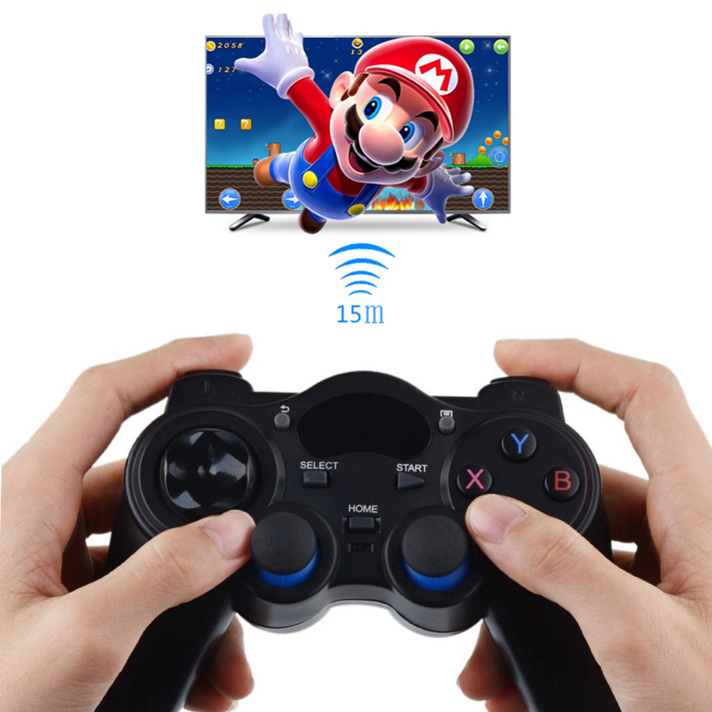 2019 2.4G Wireless Game Gamepad Joystick for Android TV Box Tablet PC GPD XD Console Game Controller Computer Game Controller