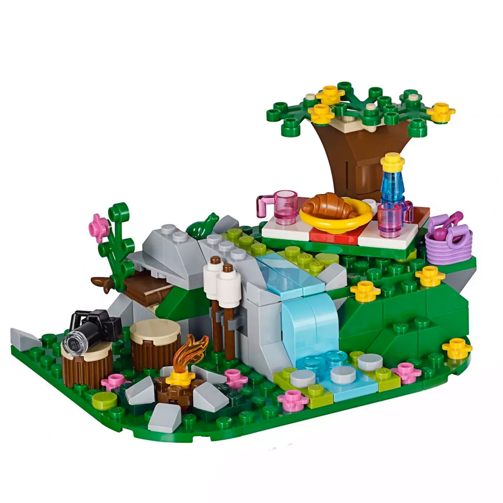 Lego 100 amis Mixte Petit Cône plaque brique transparent translucide PIECES