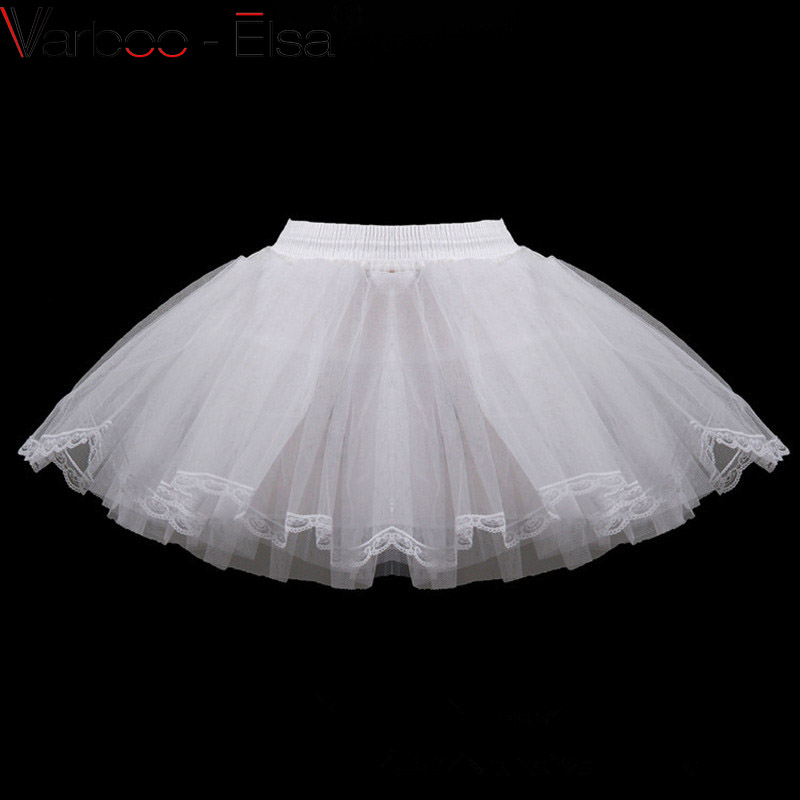 Petticoat Children 3 Layers Hoopless Short Petticoats