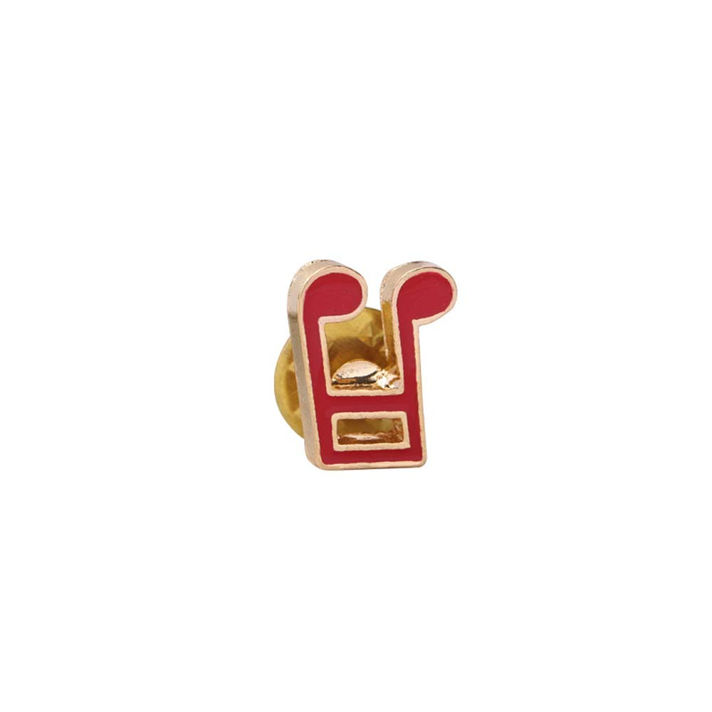 MJARTORIA Creative 1pc Music Pins Women Badge Collar Dress Shoe Lips Brooch Pins Gils Decorative Clothing Bag Gifts