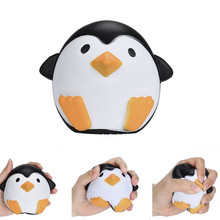 ZUCZUG Jumbo Squishy Penguin Kawaii Cute Animal Slow Rising Sweet Scented Vent Charms Bread Cake Kid Toy Doll Gift Fun jumbo kawaii chocolate biscuit squishy soft squeeze toy simulation bread cake scented slow rising anti stress fun for kid gift